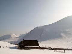 Le buron du col de la Croix Morand 1401 m