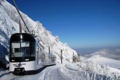 Le train panoramique du Puy de Dôme