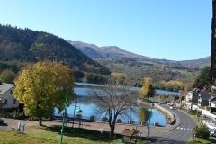 Le lac en été (photo prise de la location)