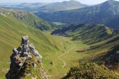 le Val de Courre vu de la Tour Carrée