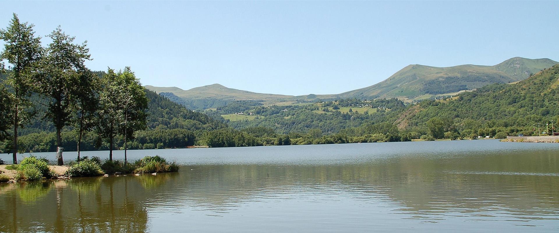 Lac Chambon Puy de Dôme
